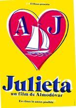 Movie poster Julieta