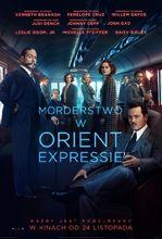 Plakat filmu Morderstwo w Orient Expressie