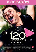 Plakat filmu 120 uderzeń serca