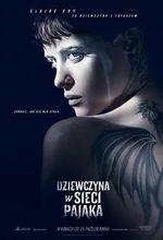 Plakat filmu Dziewczyna w sieci pająka
