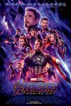 Movie poster Avengers: Koniec gry