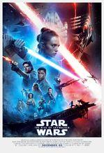 Movie poster Gwiezdne wojny: Skywalker. Odrodzenie