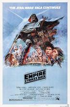 Movie poster Gwiezdne wojny: część V - Imperium kontratakuje