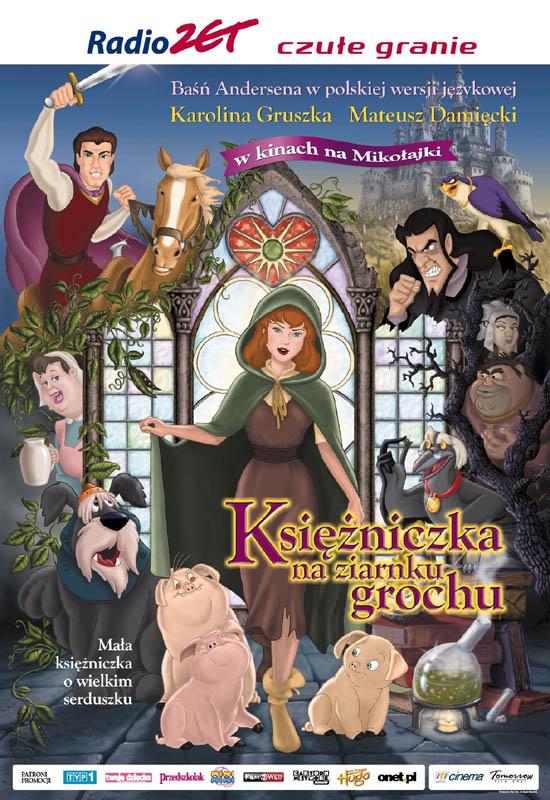 Ksiê¿niczka na ziarnku grochu (2002) PL.DVDRip.XviD-NN / Dubbing PL *dla EXSite.pl*